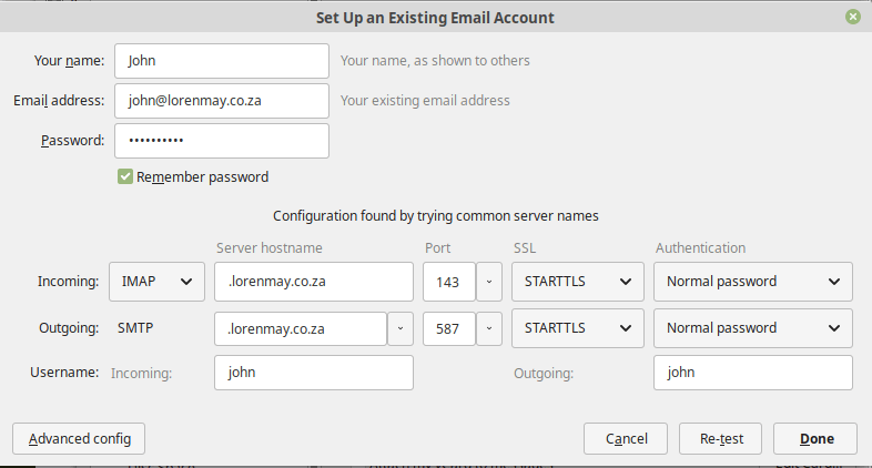 Dovecot and Exim with Letsencrypt